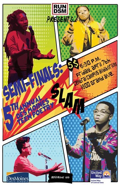 2017 Semi-finals, Des Moines Teen Poetry Slam